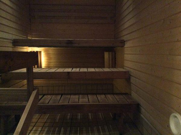 Sauna- ja pesutilat